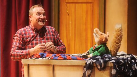 Basil Brush and sidekick Christopher Pizzey are among the famous names to have taken to the stage at