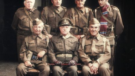 Portrait of the Walmington-on-Sea Home Guard in Dad's Army. Photo: BBC