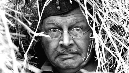 Clive Dunn as Corporal Jones in a scene from Operation Kilt - one of the recently rediscovered episo