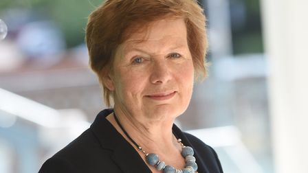 Mary Evans, the cabinet member for highways, transport and rural affairs Picture: GREGG BROWN