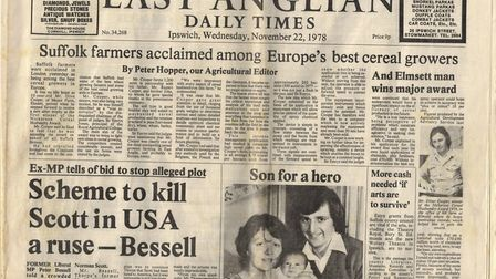 EADT news paper from 1978