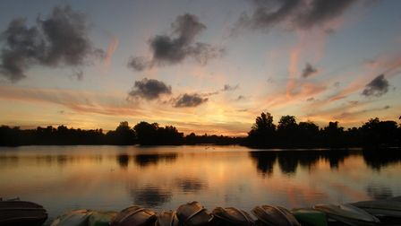 Thorpeness Mere. Picture: PAMELA BIDWELL