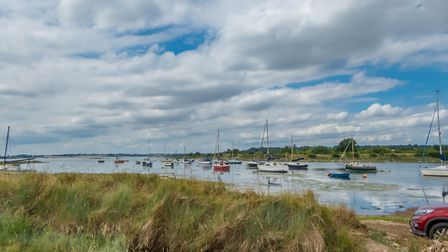 Waters edge in Shotley. Picture: SIMON PAGE