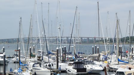 Ipswich from Woolverstone Marina. Picture: JIM ROBERTS