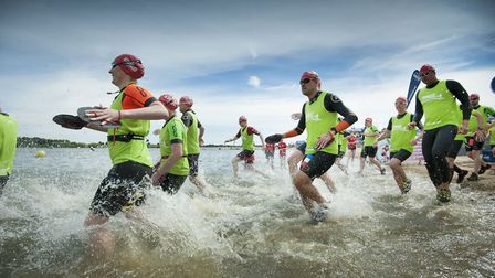 The challenges ranged from from the beginner-focused 250m (Swim250) right through to the marathon 10