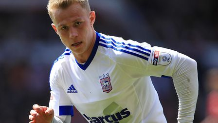 Danny Rowe could make his Town breakthrough after a loan spell at Lincoln. Photo: PA