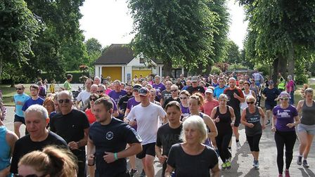 A field of 326 runners, joggers and walkers took part in Saturday's Colchester Castle parkrun. Pictu