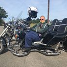 Ian Owen, from Stowmarket, took part in the East Anglian Bikers ride Picture: GEMMA MITCHELL