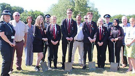 Students from Mildenhall College Academy Picture: WEST SUFFOLK COUNCILS