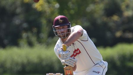 Skipper Tom Huggins, who followed up his four wickets with an innings of 72 in Sudbury's win at Clar