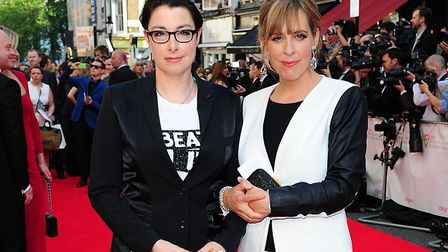 Mel (right) of Mel and Sue (l). Picture: IAN WEST/PA WIRE