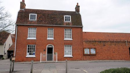 The former Babergh District Council offices in Corks Lane, Hadleigh, is being pursied for housing Pi