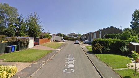 The crash happened in Chichester Road, Halesworth Picture: GOOGLE MAPS