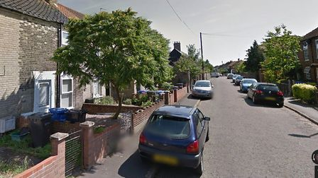 Adelaide Street, in Norwich, where the shooting took place. Photo: Google Maps