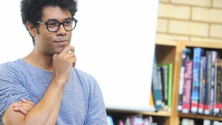 Actor, director and comedian Richard Ayoade will be heading to Latitude Picture: LUCY TAYLOR