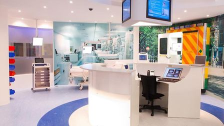 FUTURISTIC: BT Pulse showcase demonstrating cutting edge technology for use in healthcare and pharma
