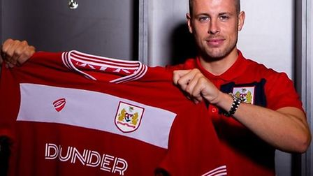 Adam Webster has left Ipswich Town to join Bristol City on a four-year deal. Picture: BRISTOL CITY