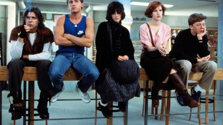 The Breakfast Club, one of the classic '80s teen films, discussed in James King's new book Fast Time