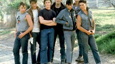 The Outsiders, starring Tom Cruise, Patrick Swayze and Matt Dillon, one of the classic '80s teen fil