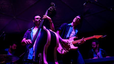 JS and The Lockerbillies Picture: GUIDO MENCARI / THE PACITTI THINK TANK