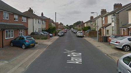 Alan Road, in Ipswich, where there was a crash involving three cars. Picture: GOOGLE MAPS