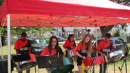 The Ipswich Youth Steel Band Picture: CHARLES MOORE