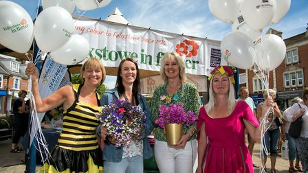 Launch of Felixstowe in Flower Picture: ANGLIA PICTURE AGENCY