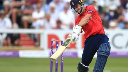 Ryan ten Doeschate, who scored 173 not out for Essex against Somerset.
