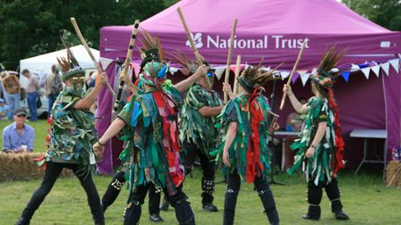 Morris Dancers at Ickworth House Picture: NATIONAL TRUST IMAGES