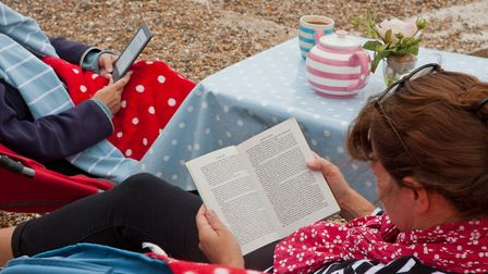 Felixstowe Book Festival is taking place this weekend. Picture: EMILY FAE