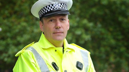 Detective Inspector Chris Hinitt from the Norfolk and Suffolk Roads Policing Unit Picture: SARAH LUC