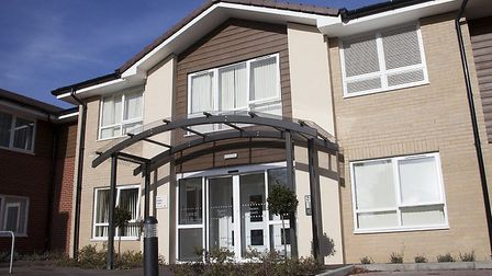 Davers Court care home in Shakers Lane, Bury St Edmunds Picture: CARE UK
