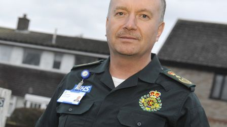 East of England Ambulance Service chief executive Robert Morton has previously spoken out about atta