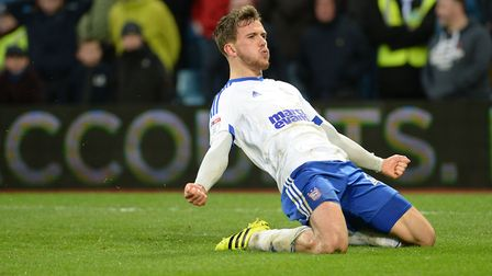 Emyr Huws is one of many talented midfielders at Town who have battled injury problems. Picture: PAG