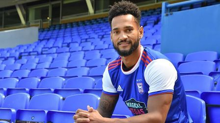Winger Jordan Roberts has signed from League Two side Crawley Town. Picture: IPSWICH TOWN