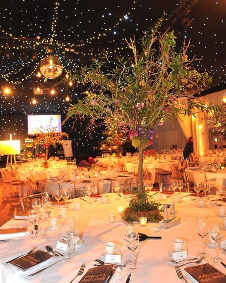 The event was held at The Hangar at Milsoms Kesgrave Hall Picture: LUCY TAYLOR PHOTOGRAPHY
