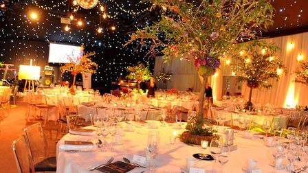 The event was staged the The Hangar at Milsoms Kesgrave Hall Picture: LUCY TAYLOR PHOTOGRAPHY