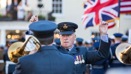 Action from the sunset parade in Bury St Edmunds Picture: ST EDMUNDSBURY BOROUGH COUNCIL