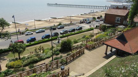 Felixstowe Spa Gardens and Docks Picture: PETER BASH