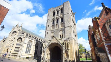 Norman Tower in Bury St Edmunds. Picture: GREGG BROWN