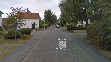 Farriers Close, Martlesham, where raiders struck stealing a quantity of jewellery. Picture: GOOGLE M
