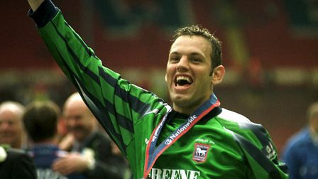 Keeper Richard Wright signed for Arsenal. Picture: ARCHANT