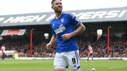 Daryl Murphy departed in a big money move for Newcastle. Picture: PAGEPIX LTD