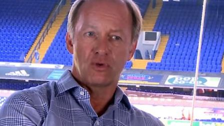 Ipswich Town owner Marcus Evans during his first-ever video interview. Picture: IPSWICH TOWN YOUTUBE
