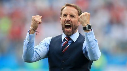 England manager Gareth Southgate is the first national boss since Sir Bobby Robson to lead the count