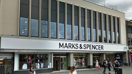 Marks and Spencer in Brentwood - owned by Mid Suffolk and Babergh councils Picture: GOOGLE MAPS