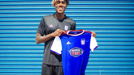 New Chelsea loanee Trevoh Chalobah can play in defence or midfield. Photo: ITFC