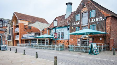 Isaacs on the Quay. Picture: Gavin King Photography
