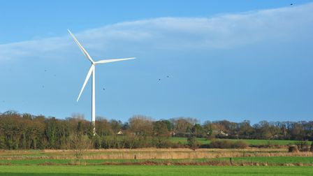 Wind turbines are among measures being assessed Picture: NICK BUTCHER