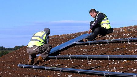 A new scheme will help those who can afford solar panels to have them installed Picture: PHIL MORLEY
